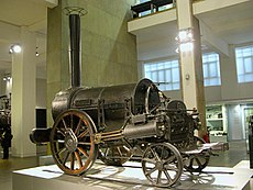 Locomotora Rocket de Stephenson / Wikipedia