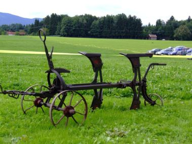 Arado mecánico de John Deere