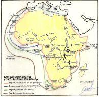 Exploraciones portuguesas en Áfrcia