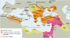 Territorios del Imperio Otomano (s. XVI)