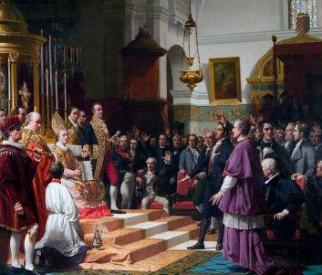Juramento de las Cortes de Cádiz