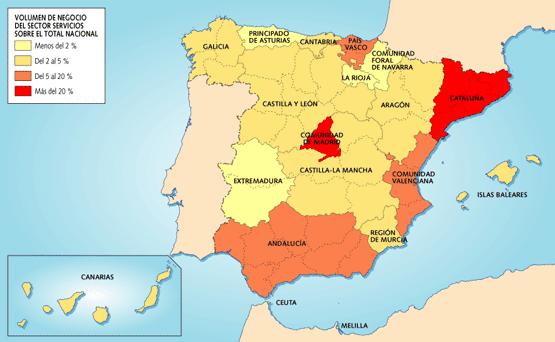 Mapa Tematico De Espana.Comentario De Un Mapa Tematico La Mar De Historias