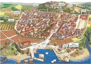 Dibujo de Atenas